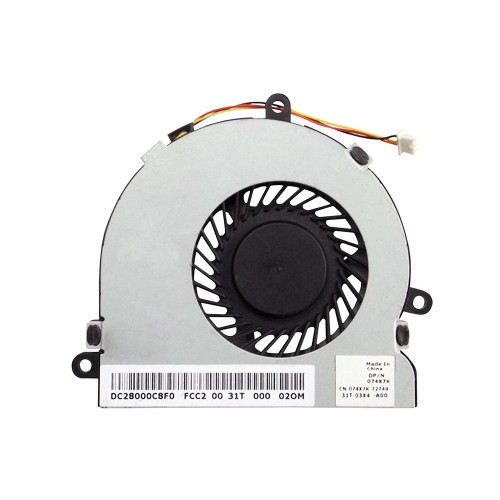 Ventilátor pro DELL 15R 3521 5521 17R 5721 HP Compaq 240 250 14-R 15-R 3PIN