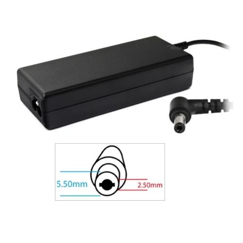 AC adaptér pro ASUS TOSHIBA IBM LENOVO120W - 19V/6,3A 5,5x2,5mm