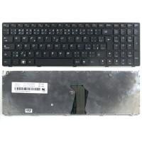 Klávesnice pro Lenovo G560 G565 G570 G575 chiclet černá CZ/SK