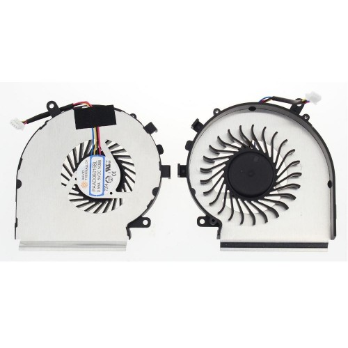 Ventilátor pro  MSI GE62 GE72 GL62 GL72 PE60 PE70 CPU 4pin