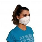 Ochranná rouška elastická antibakteriální bílé