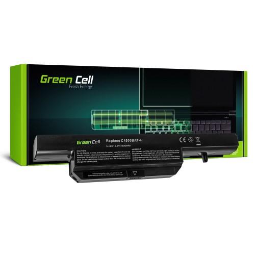 Batéria pre Clevo C4500 C5500 W150 W150ER W170 W170ER W170HR / 11,1V 4400mAh